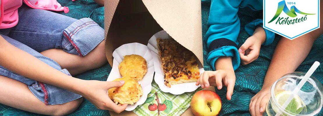 Kékestető piknik csomag megvásárolható a Tető étteremben