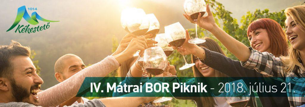 Mátrai Bor Piknik a Kékestetőn