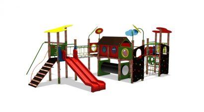 Kékestető új játszótér látványterv